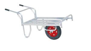 ハラックス コン助 CN-45DN (法人個人選択) アルミ製平型一輪車 ノーパンクタイヤ(TR-13×3N)[積載重量100kg 伸縮 ストッパー 瀧商店]