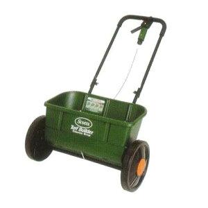 スコッツ 芝生肥料散布機 アキューグリーン 3000 30L SAG-3000 [農機具 ドロップ式 スプレッダー 肥料散布器] キンボシ
