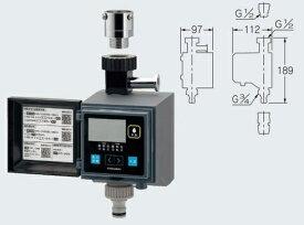 カクダイ 潅水コンピューター502-320 自動水やりタイマー[潅水 コンピューター システム 自動 管理]