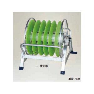 ハラックス 潅太郎 KM-640 (法人個人選択) アルミ製 巻取機 [潅水チューブ・潅水ホース・点滴チューブ・散水ホース用]