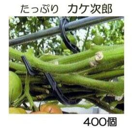 トマト誘引資材 たっぷり カケ次郎 大容量 400個入 (50個入×8袋) シーム KJR-50[誘引具 カンタン 瀧商店] トマト栽培