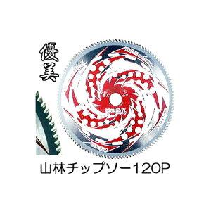 関西洋鋸 120枚刃 山林 チップソー 優美 草刈刃 255mm×120P T-1790 太刈忍者 (zmC2)
