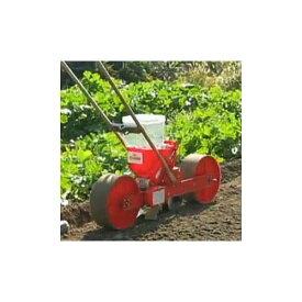 [種まき機] 種まき ごんべえ 1条播種機 (リンクベルト付) HS-120LH 穀類用 1条 溝切りディスクが有能 ※ベルト選択 向井工業