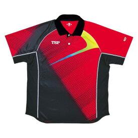 卓球 ウェア TSP ティーエスピー abg0159 エクレールシャツ 卓球ウェア メンズ レディース 半袖 キッズ ジュニア 小学生 中学生 高校生 大学生 部活 トップス 男性 女性 男女兼用 かわいい かっこいい スポーツウェア