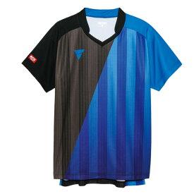 VICTAS ヴィクタス aog0110 ゲームシャツ V-GS053 卓球ウェア メンズ レディース 半袖 キッズ ジュニア 小学生 中学生 高校生 大学生 部活 トップス 男性 女性 男女兼用 かわいい かっこいい スポーツウェア