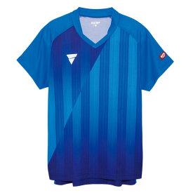 VICTAS ヴィクタス aog0111 ゲームシャツ V-NGS052 卓球 ウェア 卓球ウェア メンズ レディース 半袖 キッズ ジュニア 小学生 中学生 高校生 大学生 部活 トップス 男性 女性 男女兼用 かわいい かっこいい スポーツウェア