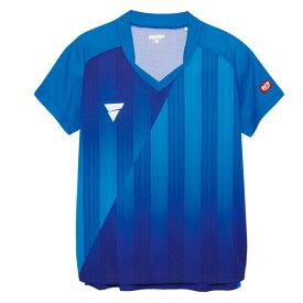 卓球 ユニフォーム ビクタス ゲームシャツ V-LS054 卓球ウェア メンズ レディース 半袖 キッズ ジュニア 小学生 中学生 高校生 大学生 部活 トップス 男性 女性 男女兼用 かわいい かっこいい スポーツウェア aog0112