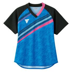 VICTAS ヴィクタス aog0117 ゲームシャツ V-LGS802 卓球 ウェア 卓球ウェア メンズ レディース 半袖 キッズ ジュニア 小学生 中学生 高校生 大学生 部活 トップス 男性 女性 男女兼用 かわいい かっこいい スポーツウェア