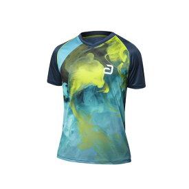 ANDRO アンドロ 卓球 ユニフォーム ゲームシャツ ajg0183 アンドロ ケイン