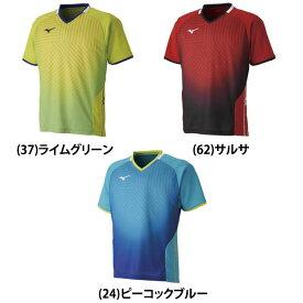 MIZUNO ミズノ apg0416 ゲームシャツ ゲームシャツ(卓球)[ユニセックス] 卓球ウェア メンズ レディース 半袖 キッズ ジュニア 小学生 中学生 高校生 大学生 部活 トップス 男性 女性 男女兼用 かわいい かっこいい スポーツウェア