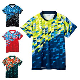 卓球 ユニフォーム トップス 半袖 キッズ ジュニア メンズ レディース 卓球ウェア かっこいい aog0131 ゲームシャツ(V-GS220) VICTAS ヴィクタス 2021年全日本選手権モデル