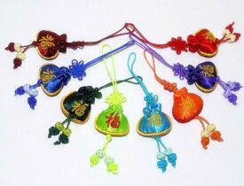 中国雑貨 手芸刺繍 福柄 携帯ストラップ キーホルダー 景品・販促品・イベント用品