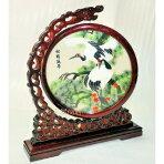 両面刺繍高級刺繍中国民俗工芸品置物ギフト中国のお土産