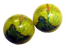 天然石健身球 中国伝統な健康トレーニング器具・健康グッズ・中国のお土産