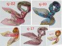 大人気肌触りふんわり柔らか 薄手スカーフ 【全25色】レディース 90角スカーフ シルクロードの起点【西安】からの贈り物 ◆美品激安◆ 中国雑貨