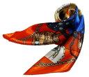 かわいいシルク調スカーフ 中判 60cm正方形スカーフリボン 事務服 企業制服スカーフ 鮮やかで顔まわり華やかUP 手…