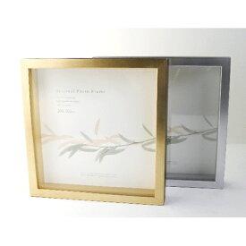 【アートボックスフレーム】ART BOX立体額25角(250×250mm) シャンパンゴールド・ヘアラインシルバー 10P01Oct16