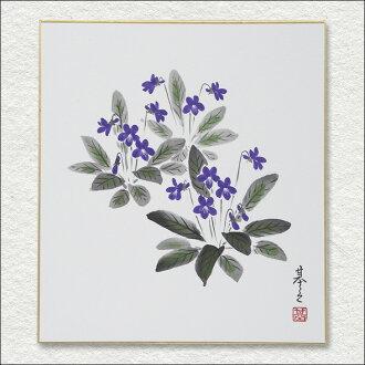 ≪≫奥特莱斯彩色纸春天佐佐木基之日本画绘画彩色纸奥特莱斯商品10P01Oct16
