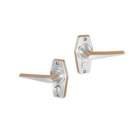 GIKEN 川口技研 ドアロックシリーズHL−3N ニッケル シルバー内締錠(2型) 標準品
