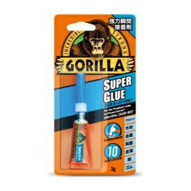【 新入荷 新商品 】呉工業 KURE 強力 瞬間 接着剤GORILLA SUPER GLUEゴリラ スーパーグルー 3g 1771