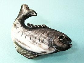 黒水牛の魚のブローチ アウトレット 訳あり 贈り物 アンティーク 手作り クラシカル レトロ 母の日 プレゼント 黒水牛
