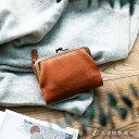 トーンオイルヌメ がま口ポケット財布