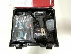 makita■マキタ 40Vmax インパクトドライバー TD001GRDXB--B1 (黒) 電池1個仕様 ★新品