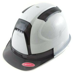 ■トーヨー★通気性UP!墜落時保護用ヘルメット 390F-OTSS 白/黒