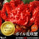 花咲蟹 メス 900g〜1kg 1尾