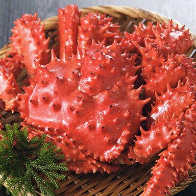 花咲蟹 2.0〜2.2kg(活の状態で2.3〜2.8kg)1尾・ショックフリーザー冷凍品