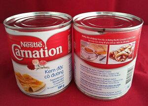 タイ産 ネスレ 384g×1缶 カーネーション ブランド 賞味期限2021/9/26ケース売り お菓子作り 製菓材料 製パン材料 コンデンスミルク・練乳の代用に ベトナムコーヒーに