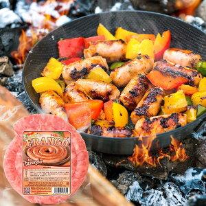 冷凍 生 粗挽き チキンソーセージ リングイッサ 400g ぐるぐる トルネード シュラスコ BBQ キャンプ 焼肉 焼き肉 鶏肉 食材 バーベキュー ホームパーティー肉 冷凍食品 LINGUICA FRANGO