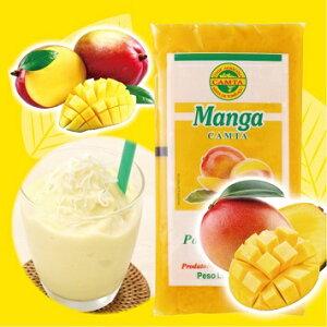 マンゴー フルーツパルプ フルッタ 400g(100gパック×4) 冷凍非常食 保存食 長期保存冷凍フルーツ・デザート フレッシュジュース ブラジル タイ ベトナム 南国 アジアン フィリピン 冷凍