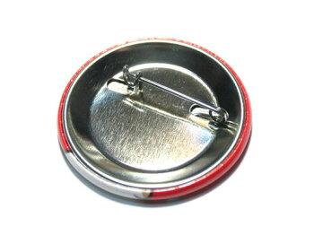 たまぢぃ缶バッチ(赤)ゆるキャラグッズ♪