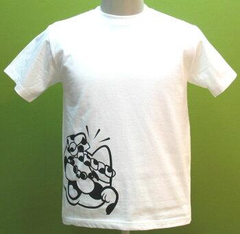 たまぢぃTシャツ(ホワイト)ゆるキャラグッズ♪