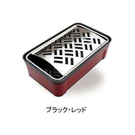 ◇高嶋金物店◇スーパーおろし器 ブラック・レッド