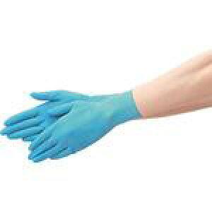 ◇高嶋金物店◇エブノ ディスポラテックスグローブ  N o.452 ブルー 100枚入 SS・S・M (天然ゴム手袋)