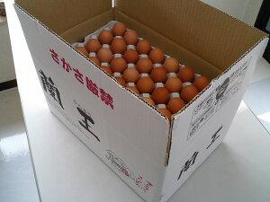 こだわりたまご蘭王 Mサイズ 10kg【117個〜132個+破損保障40個】 鮮やかな濃いオレンジ色の卵黄色 卵 たまご 新鮮