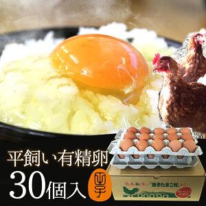 有精卵 30個入(生卵25個+破損保証5個) 飲んでも美味!甘く濃厚 生臭さ無し 平飼いでストレスなくのびのび育った純国産鶏産む健康タマゴ 肉体改造 免疫力 筋トレ ダイエット 生卵を飲む方もお