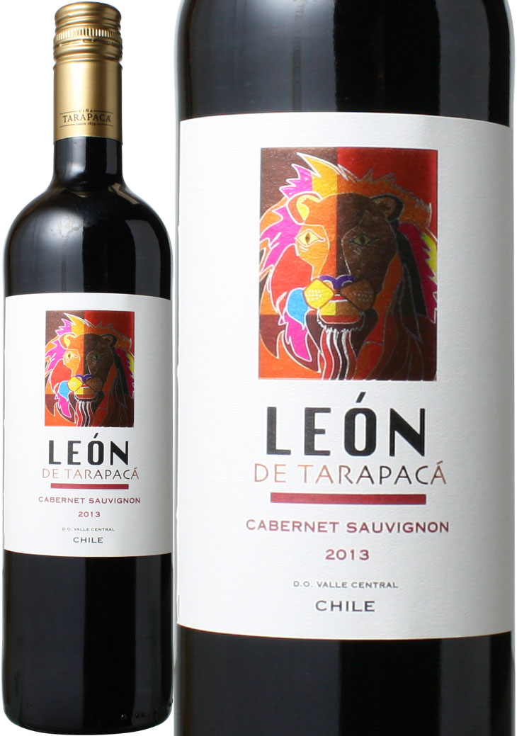 レオン・デ・タラパカ カベルネ・ソーヴィニヨン [2017] <赤> <ワイン/チリ> ヴィンテージが異なる場合がございますのでご了承ください。