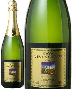 カヴァ ヴィーニャ・サン・ホセ ブリュット NV <白> <ワイン/スパークリング>