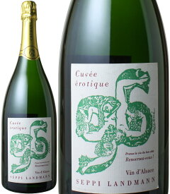 クレマン・ダルザス キュヴェ・エロティック ブリュット マグナムサイズ 1.5L [1999] セピ・ランドマン <白> <ワイン/スパークリング>