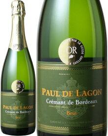 クレマン・ド・ボルドー ポール・ド・ラゴン サステイナブル農法 NV <白> <ワイン/スパークリング>