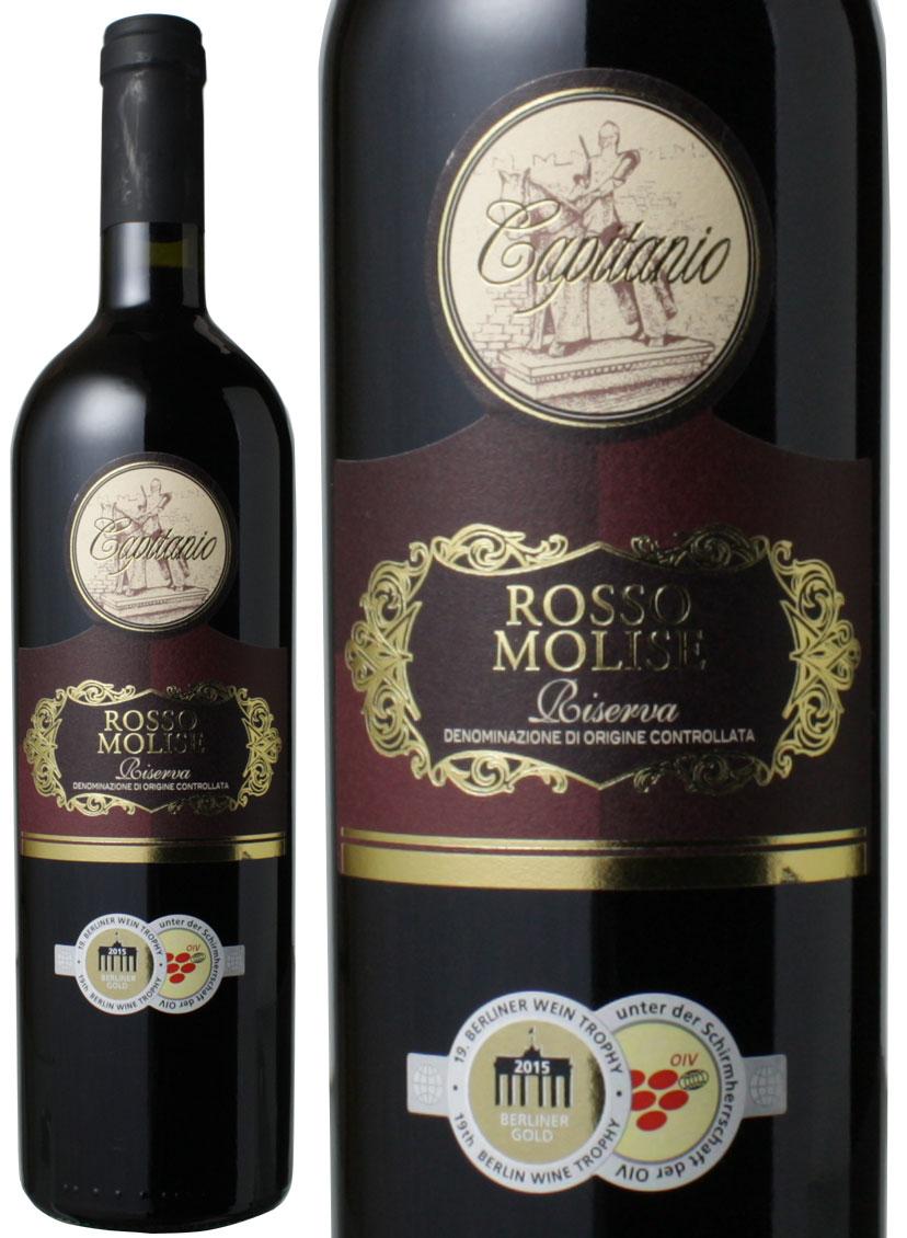 カピタニオ ロッソ・モリーゼ リゼルヴァ [2013] ボッテル <赤> <ワイン/イタリア> ※ヴィンテージが異なる場合があります。