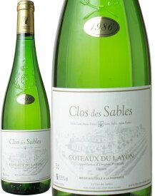 コトー・デュ・レイヨン [1986] クロ・デ・サブル <白> <ワイン/ロワール>