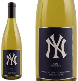 ニューヨーク・ヤンキーズ・リザーヴ シャルドネ ロシアン・リヴァー・ヴァレー [2012] <白> <ワイン/アメリカ>【■MBY1C12】 ※即刻お取り寄せ品!ヴィンテージ変更と欠品の際はご連絡します!