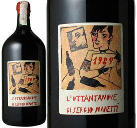 【20%OFFセール】オッタンタノーヴェ・ディ・セルジオ・マネッティ 3L [1989] モンテヴェルティーネ <赤> <ワイン/イタリア>【当店通常税込141900円】