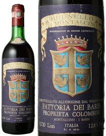 ブルネッロ・ディ・モンタルチーノ [1974] ファットリア・ディ・バルビ <赤> <ワイン/イタリア>