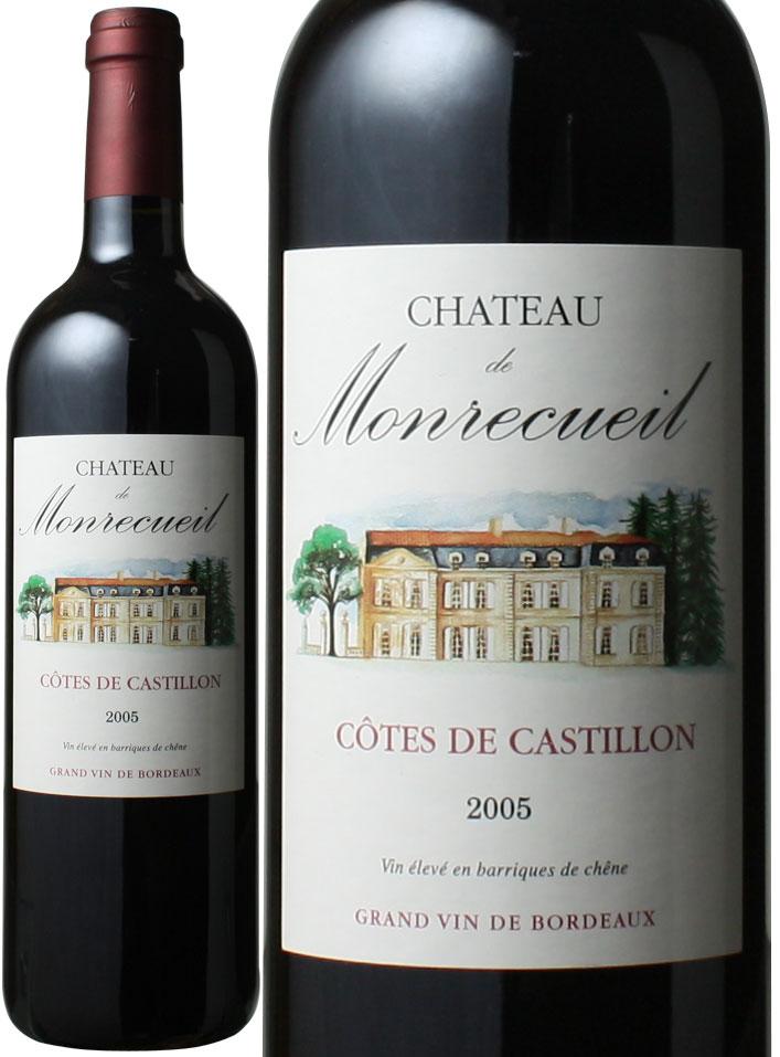 シャトー・ド・モンルカイユ [2005] <赤> <ワイン/ボルドー>