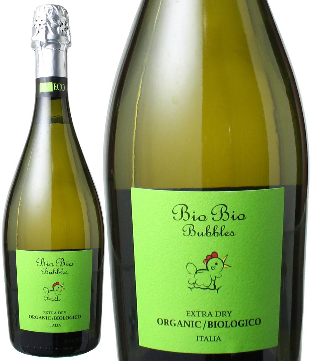 ビオ・ビオ バブルス スプマンテ オーガニック エクストラ・ドライ NV チェーロ・エ・テッラ <白> <ワイン/スパークリング>